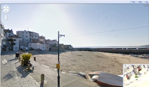 st ives cornwall sea front on google street view