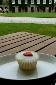 antony house cornwall cupcake