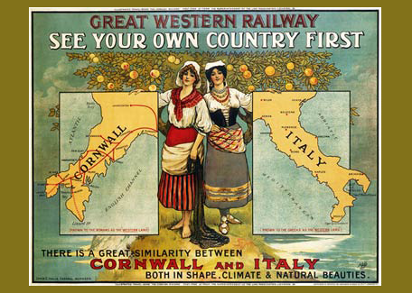 Cornwall railway Poster