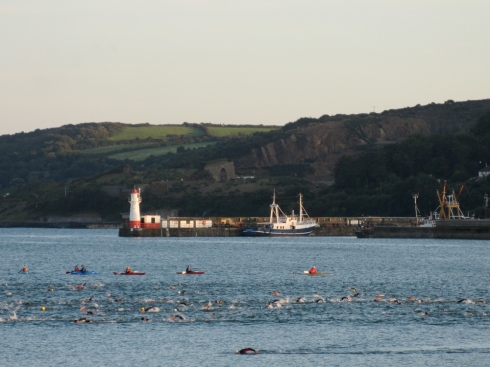 sea swim newlyn to battery rocks