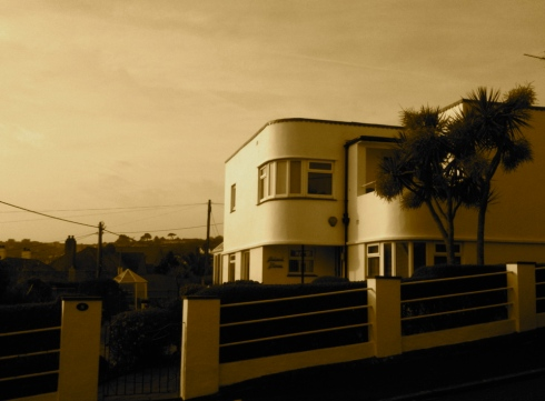 acland house  penzance modernism cornwall