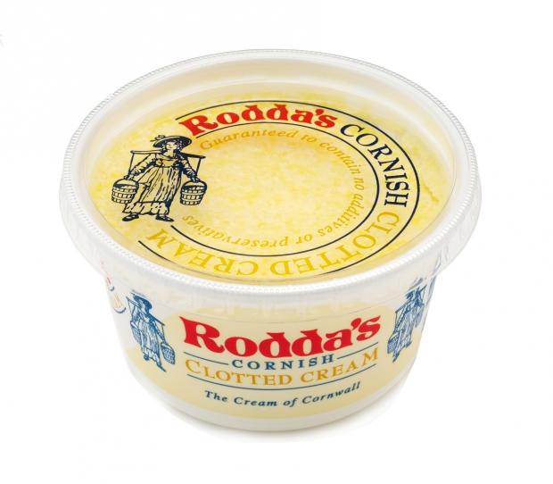 roddas clotted cream