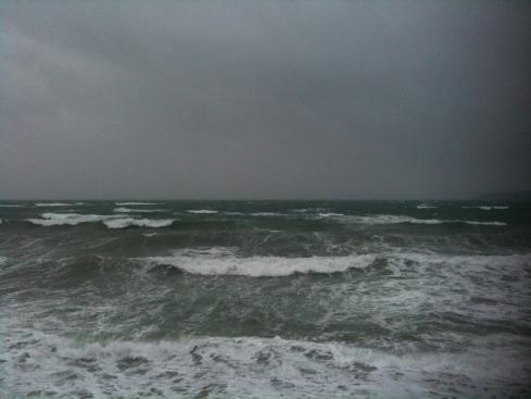 squally sea